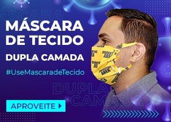 Máscara de Tecido. Clique aqui e escolha a sua!