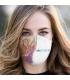 Máscara de Tecido Dupla Camada Vôlei Futuro 10 TopMask